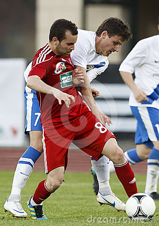 MTK vs. Debrecen Hungarian Cup Final Editorial Stock Image
