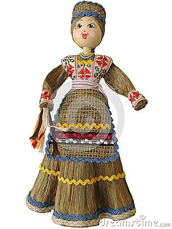 Muñeca Belorussian.