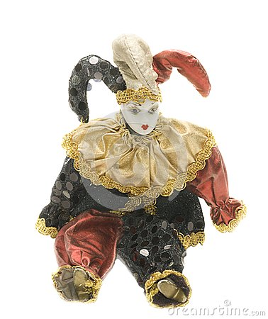 Muñeca del arlequín