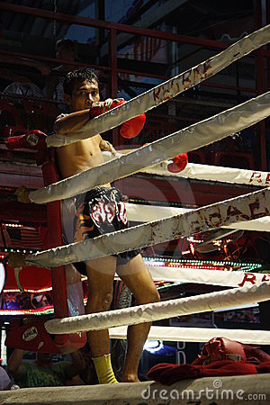 Muay Thai boxer Editorial Stock Photo
