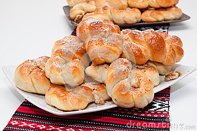 Mucenici: Traditional Romanian Cookies Stock Photos ...