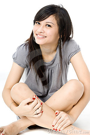 Muchacha asiática