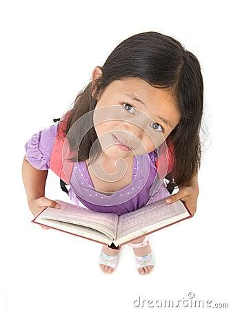 Muchacha de la escuela