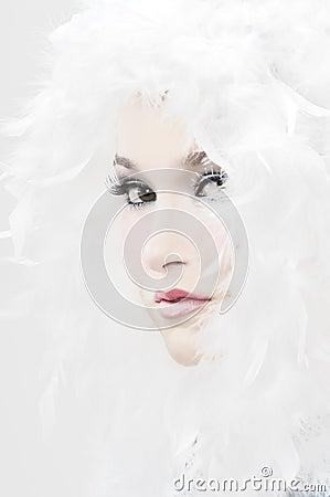 Muchacha de la nieve