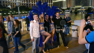 Beatyshop en Las Vegas en la tira