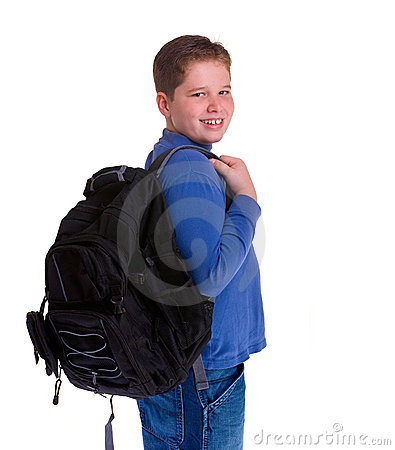 Muchacho de escuela