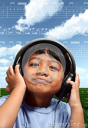 Muchacho de la música