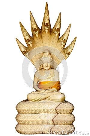 Muchalinda - stone sculpture
