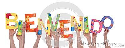 Bienvenida a los nuevos usuarios Muchas-manos-que-sostienen-bienvenido-35850526