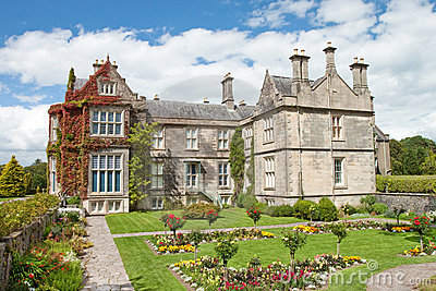 Muckross House and gardens, Killarney in Ireland.
