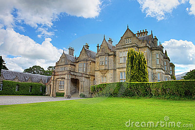 Muckross House in Killarney National Park, Ireland