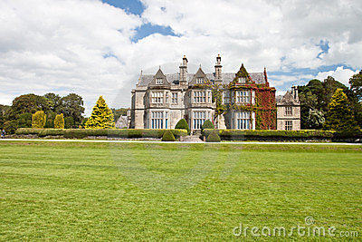 Muckross House in National Park Killarney-Ireland.
