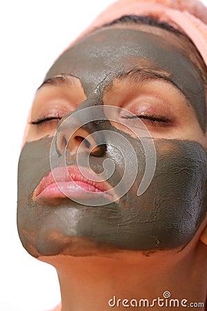Mud mask.