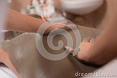 Mud skin treatment