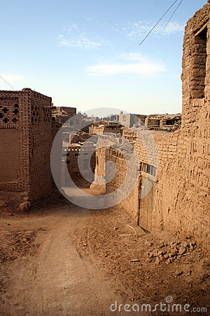 Free Mud Town, Western China Royalty Free Stock Images - 28623199