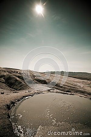 Free Mud Volcanoes In Buzau, Romania Royalty Free Stock Images - 8825319