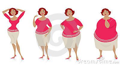 Mudanças do tamanho após a dieta
