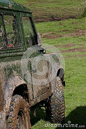 Free Muddy 4x4 Stock Images - 45376364