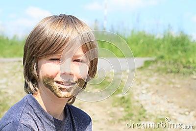 Muddy boy