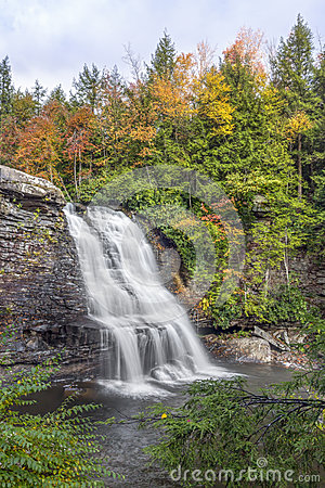 Free Muddy Creek Falls Stock Photography - 92378702