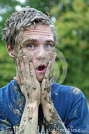 Free Muddy Man Stock Photos - 22879853