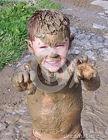 Free Muddy Monster Stock Image - 5409331