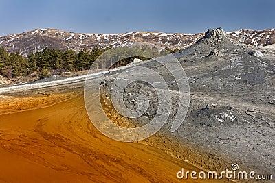 Muddy Volcanos, Romania Buzau