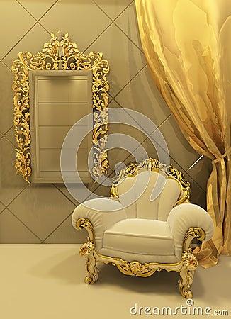 Interiores barrocos - Muebles estilo barroco moderno ...