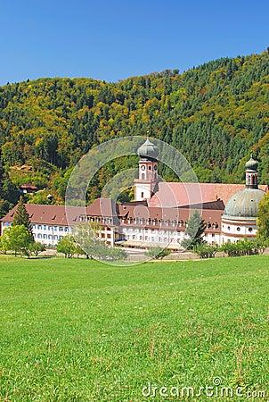 Muenstertal Abbey,Schwarzwald,black forest,germany