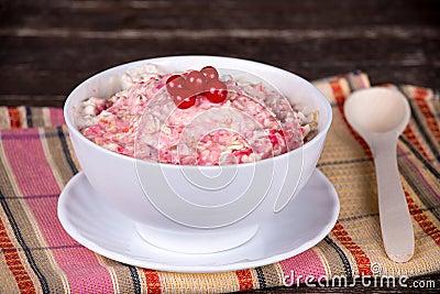 Muesli with berry