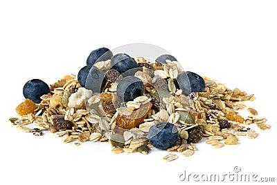 Muesli with Blueberries