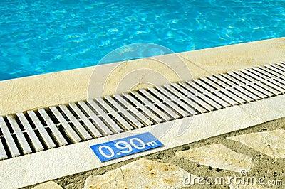 Muestra de la profundidad de la piscina imagen de archivo imagen 28362381 - Business plan piscina ...