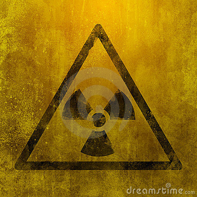 Muestra peligrosa nuclear