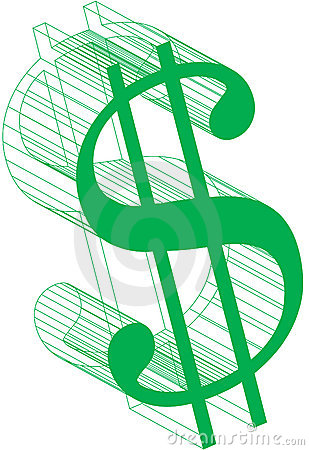 Muestra-Wireframe del dólar