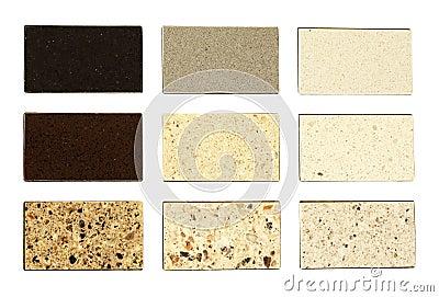 Muestras de piedra para las encimeras de la cocina for Piedra de granito para cocina precios