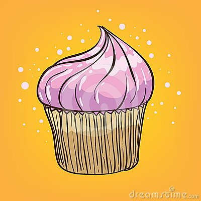 Muffin cartoon