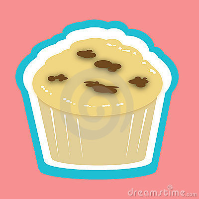 Muffin illustration