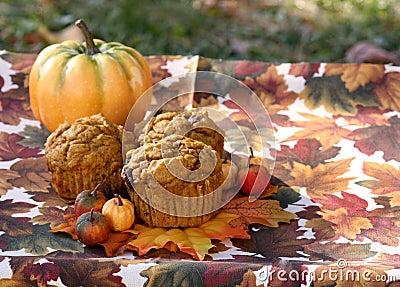 Muffin trio