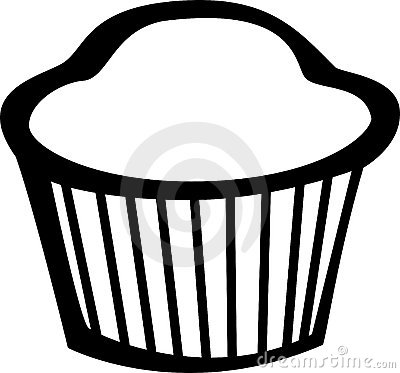 muffin vector illustration