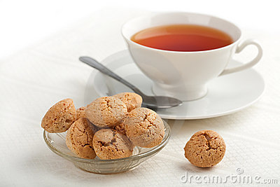 Muffins and cup of tea