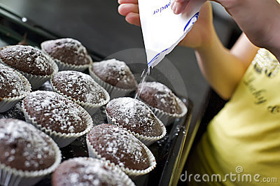 Muffins preparation