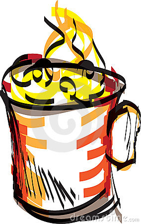 Mug illustration