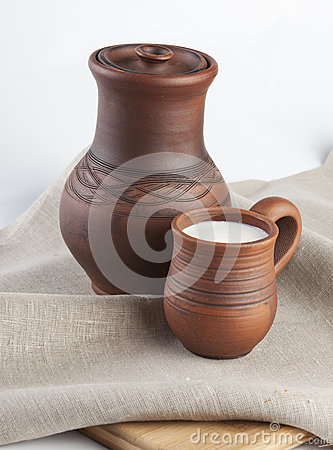 Mug with milk