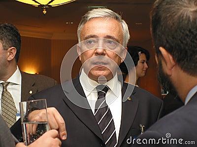 Mugur Isarescu Editorial Stock Photo