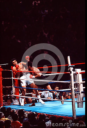 Muhammad Ali v. Leon Spinks Editorial Photo