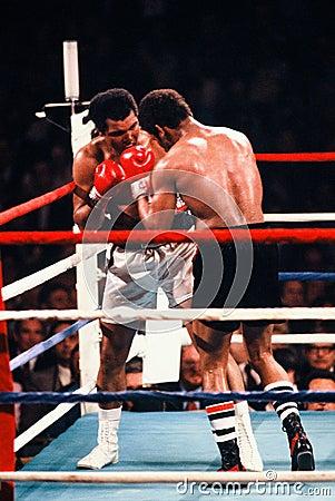 Free Muhammad Ali V. Leon Spinks Royalty Free Stock Photography - 50023957