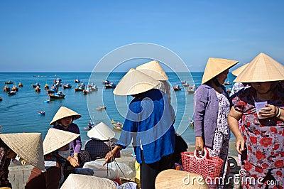 Mui Ne beach Editorial Photo