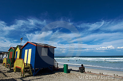 Muizenberg Beach colors