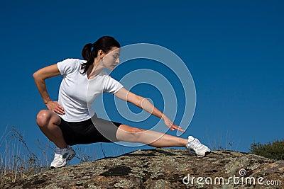 Mujer atlética