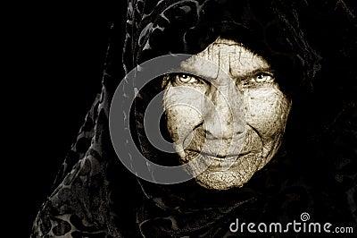 Mujer campesina rusa